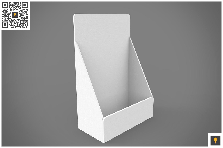 Table Top Display 3D Render example image 6