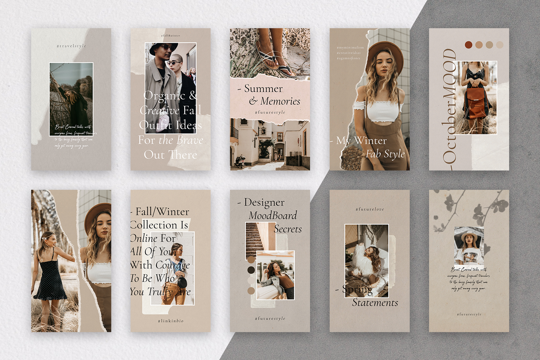 #InstaBabe - Creative & Modern Instagram Story Templates example image 5
