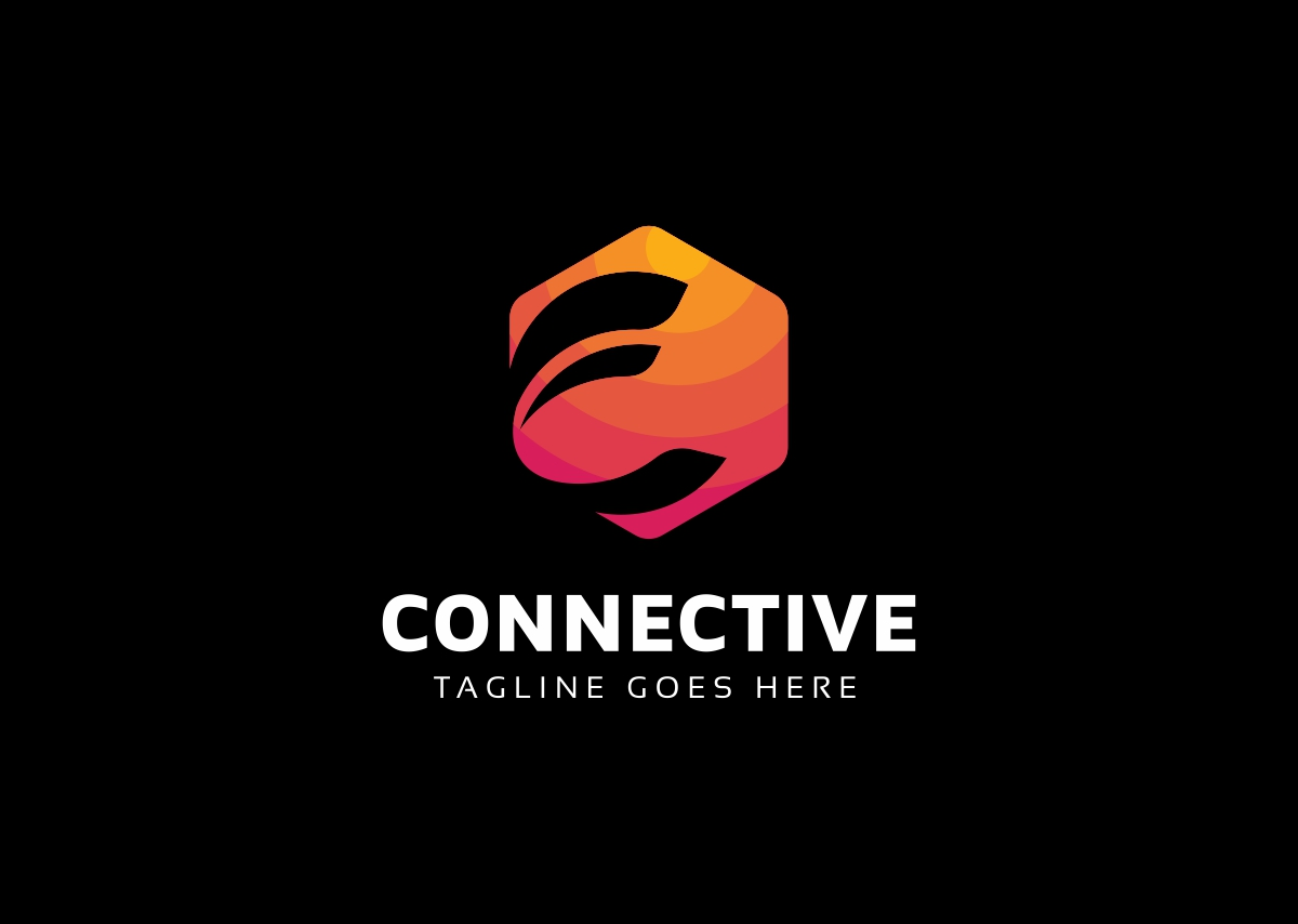 Connective C Letter Logo example image 2