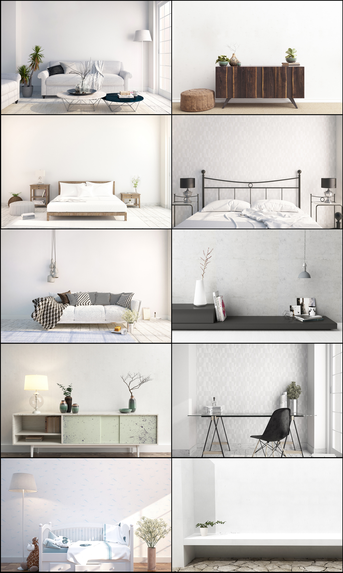 interior mockups bundle, stock photo example image 2