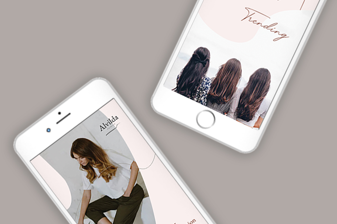 Alvida Instagram Stories Templates example image 2