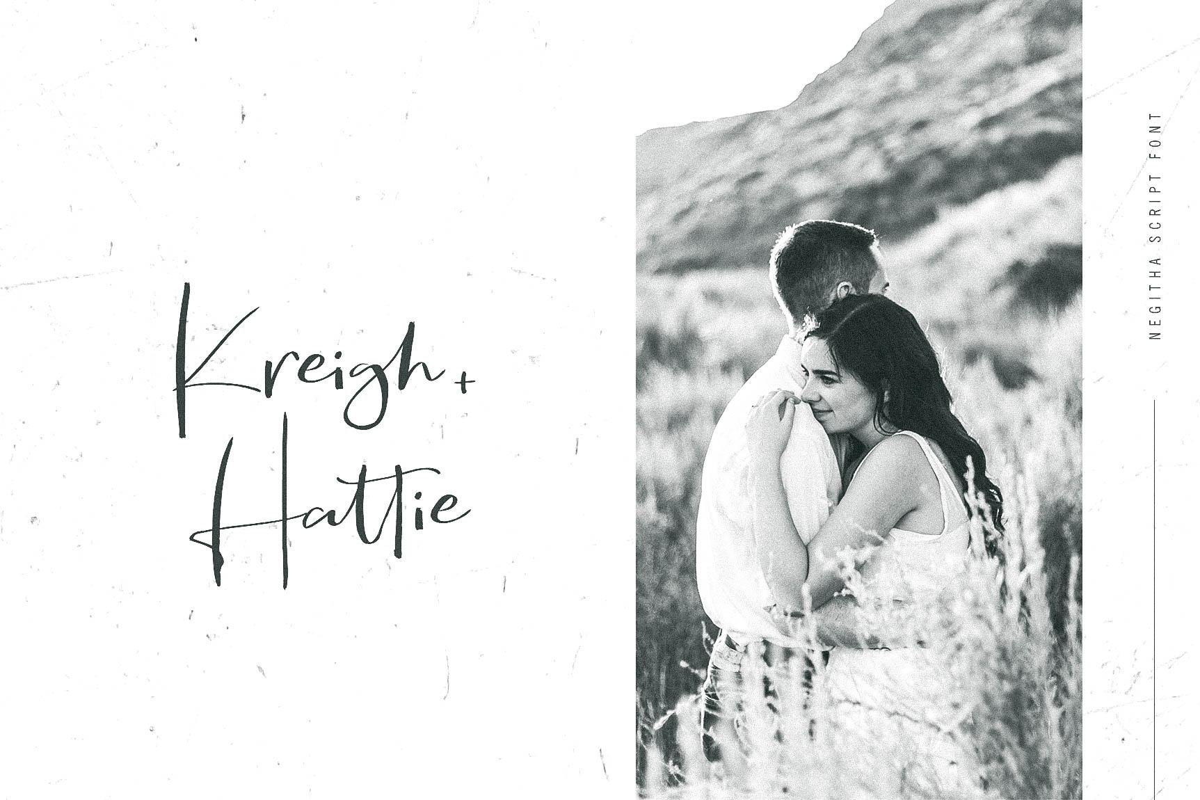 Negitha Script Font example image 7