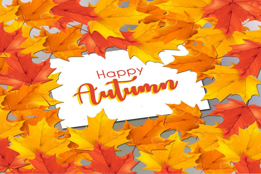 Hello Autumn Card example image 1