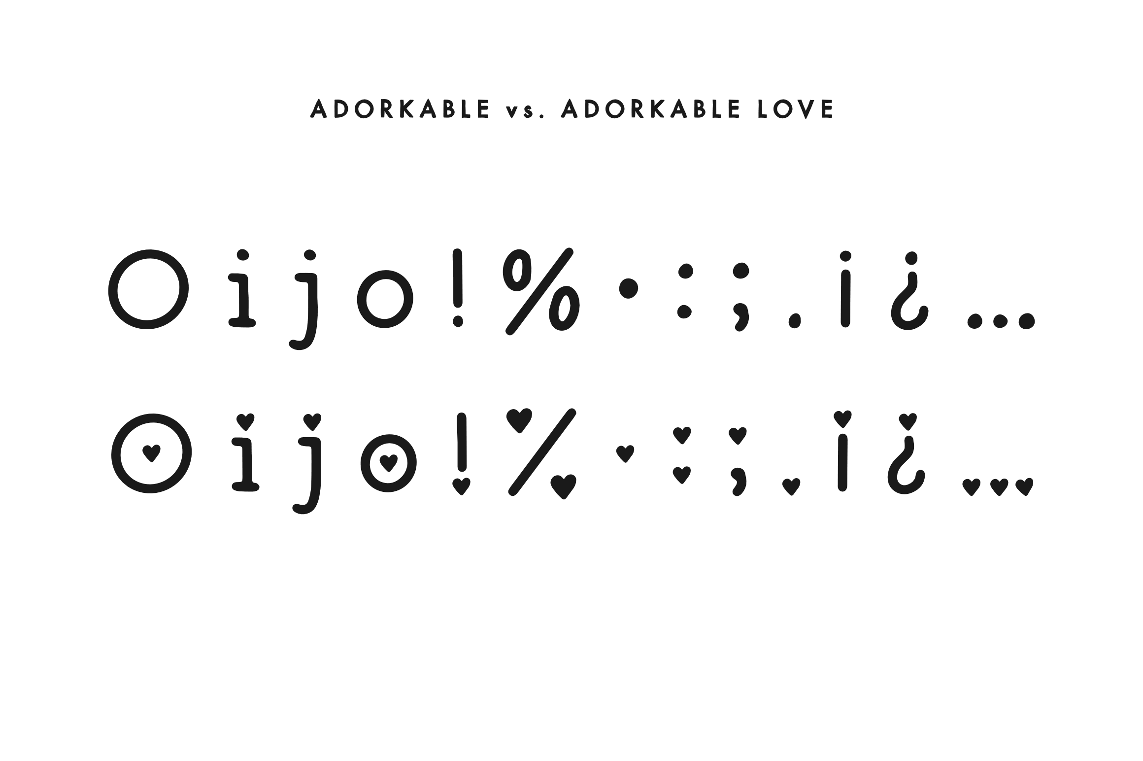Adorkable - A Simply Adorkable Handwritten Font example image 3