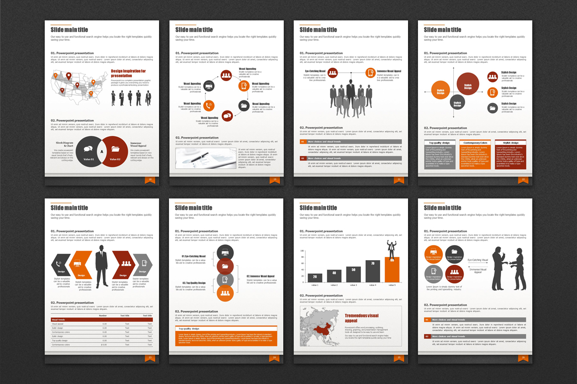Modern Business Template Vertical example image 4
