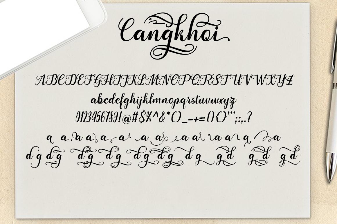 Karmila cangkhoi Script example image 6
