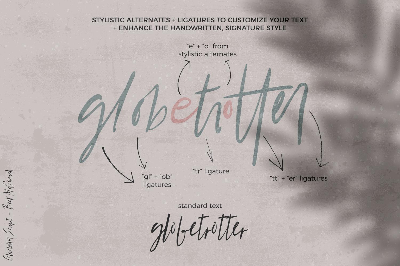 Globetrotter Signature Script example image 9