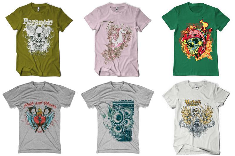 100 T-shirt Designs Vol 2 example image 12