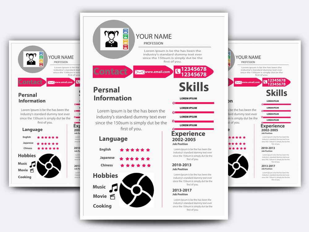 Resume Flyer example image 3
