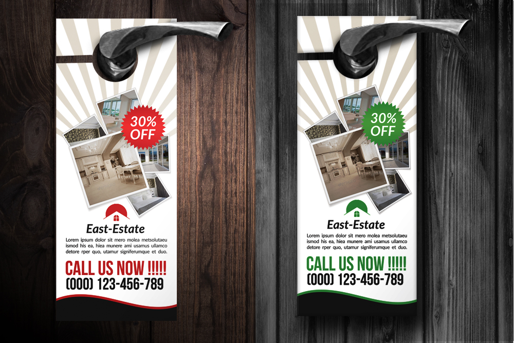 Real Estate Door Hangers example image 2
