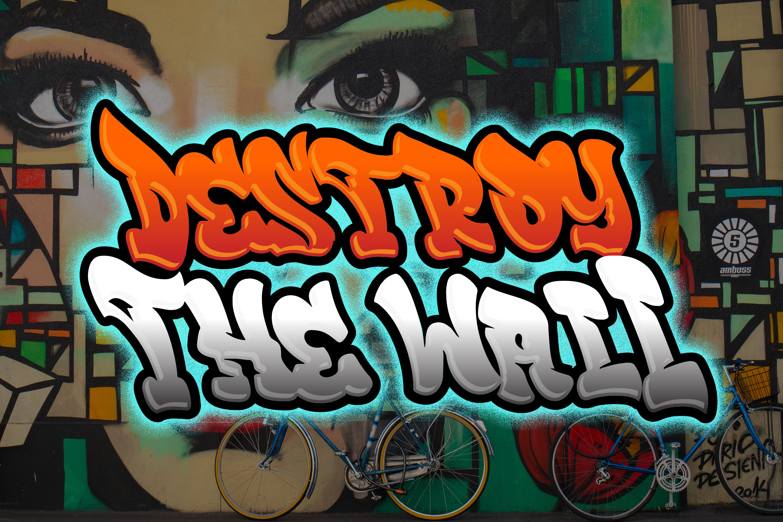 Rebeland Graffiti Font example image 2