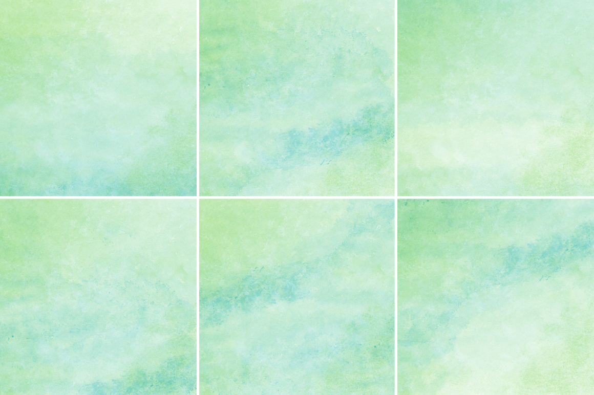 Green and Blue Watercolor Texture Backgrounds example image 2