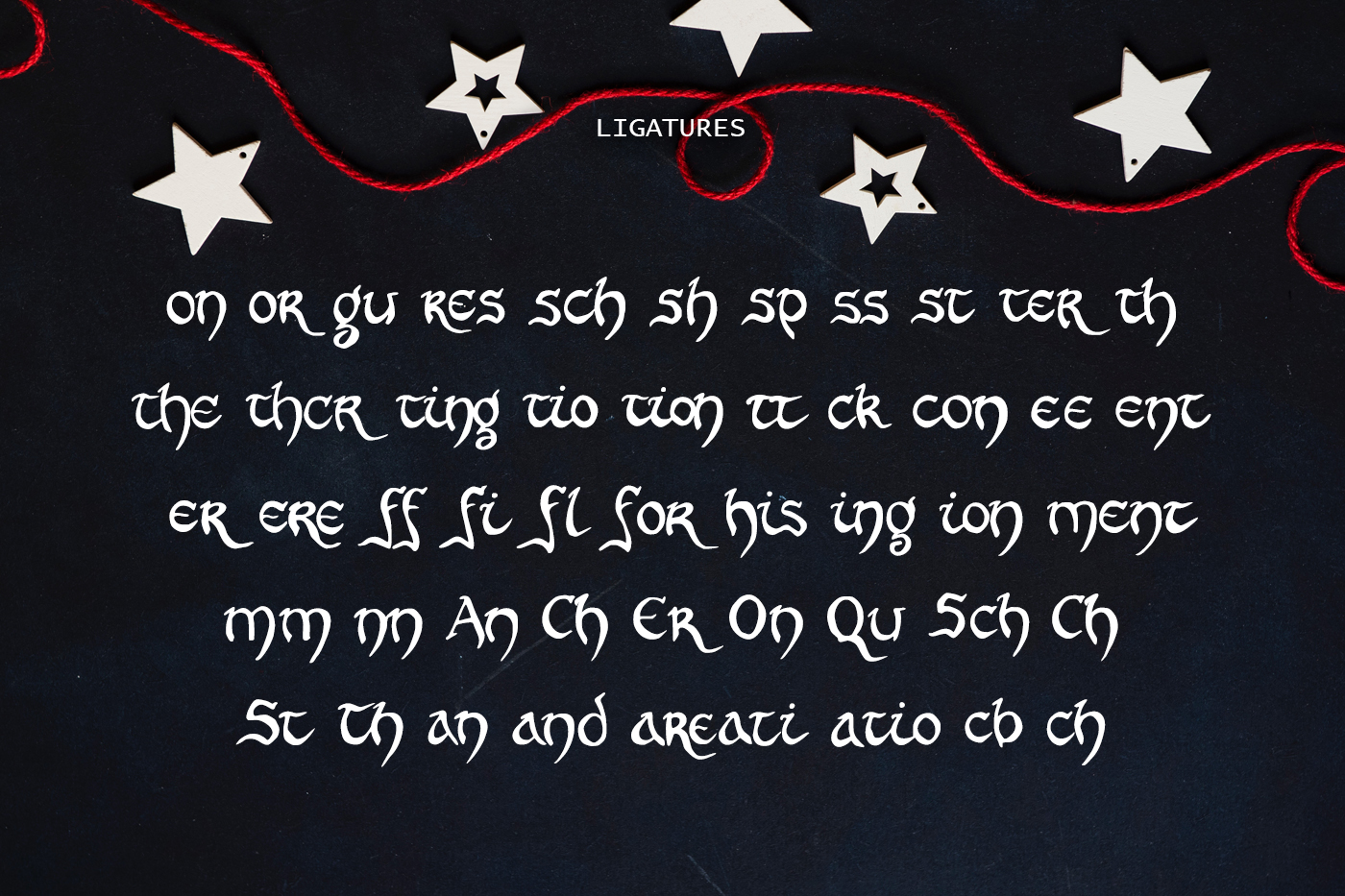 Leadword Font example image 3