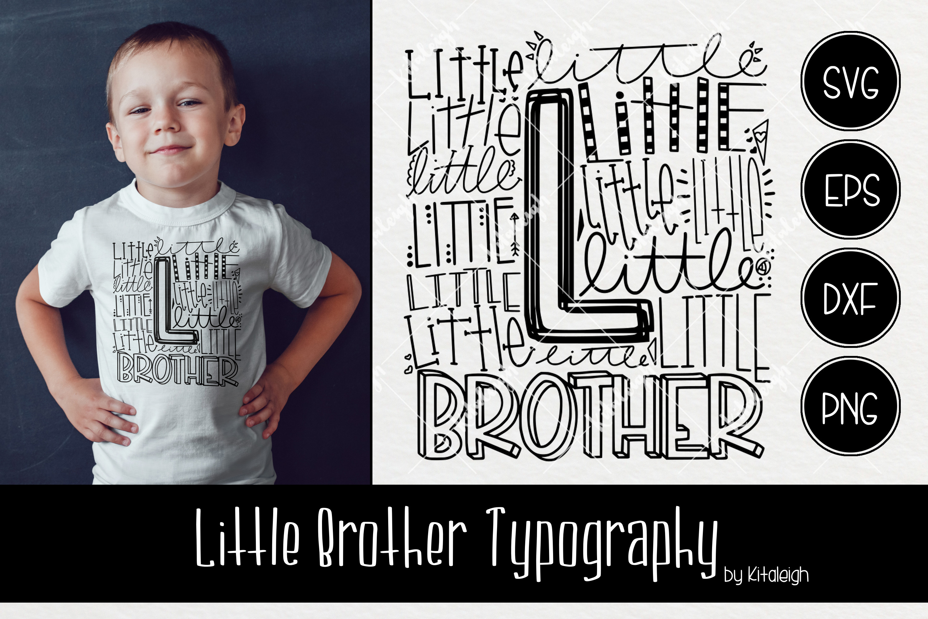 Sibling Typography Bundle example image 6