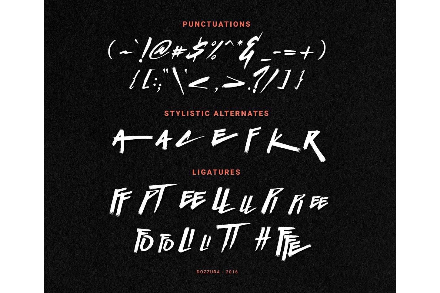 Basic Instinct Typeface example image 7