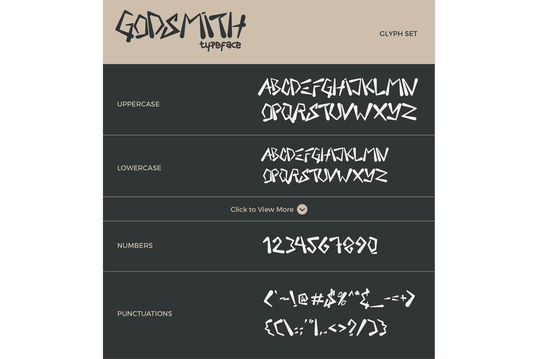 Godsmith Typeface example image 6