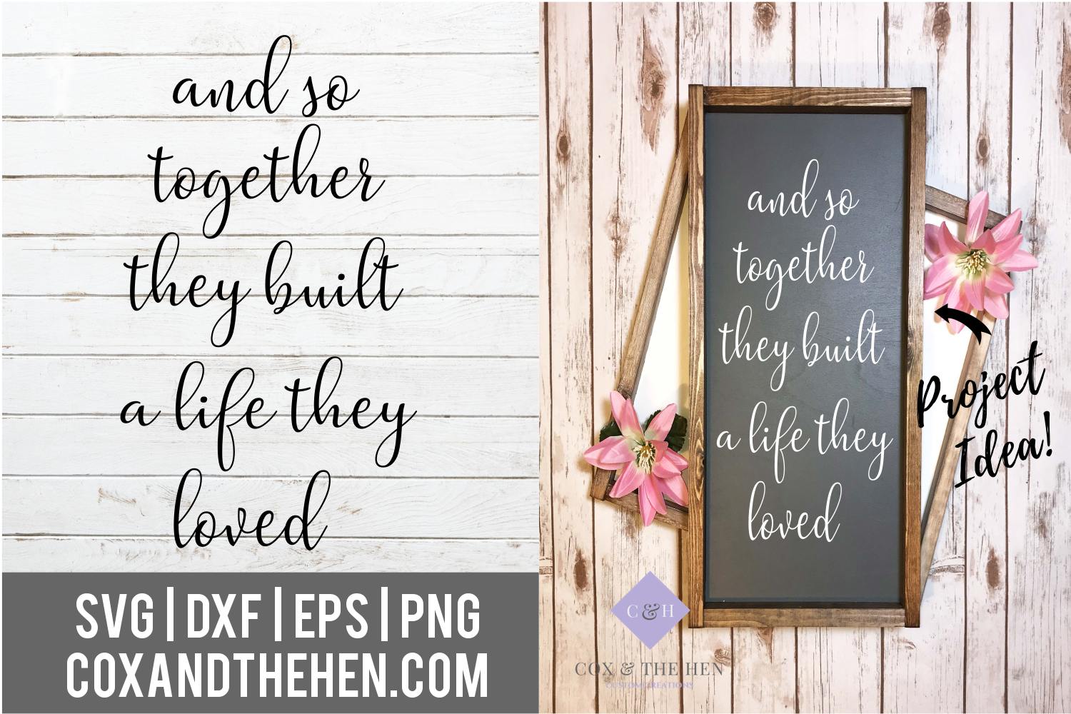1560+ Together They Built A Life They Loved Svg by Designbunle