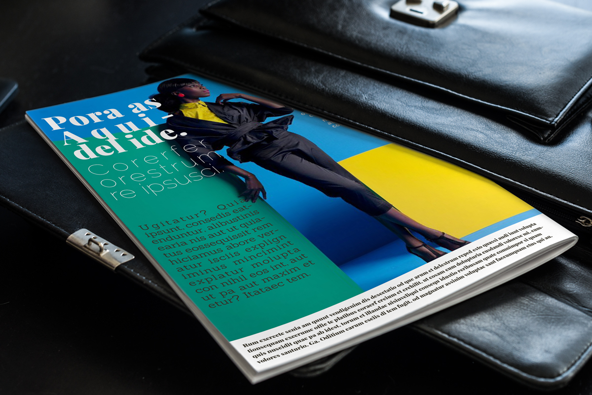 Magazine layout design example image 23