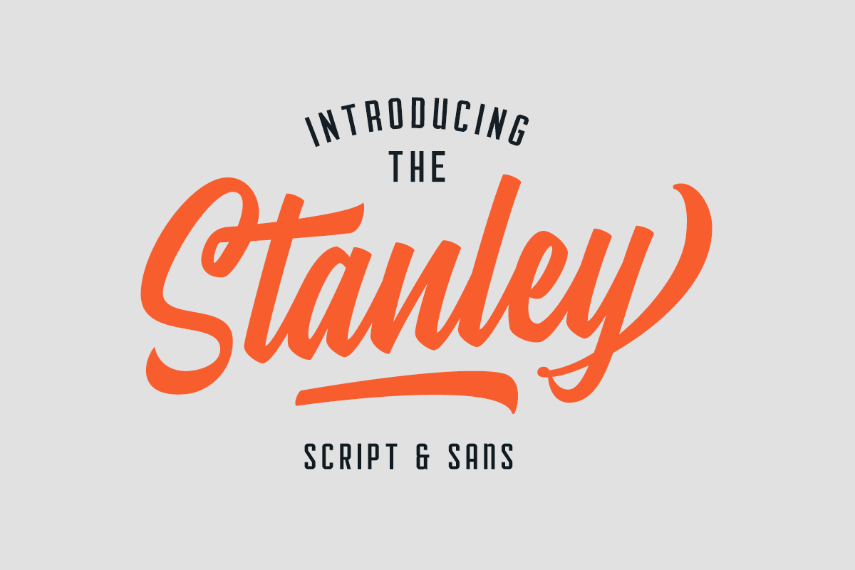 Stanley Font Duo (40%) Intro OFFER! example image 1