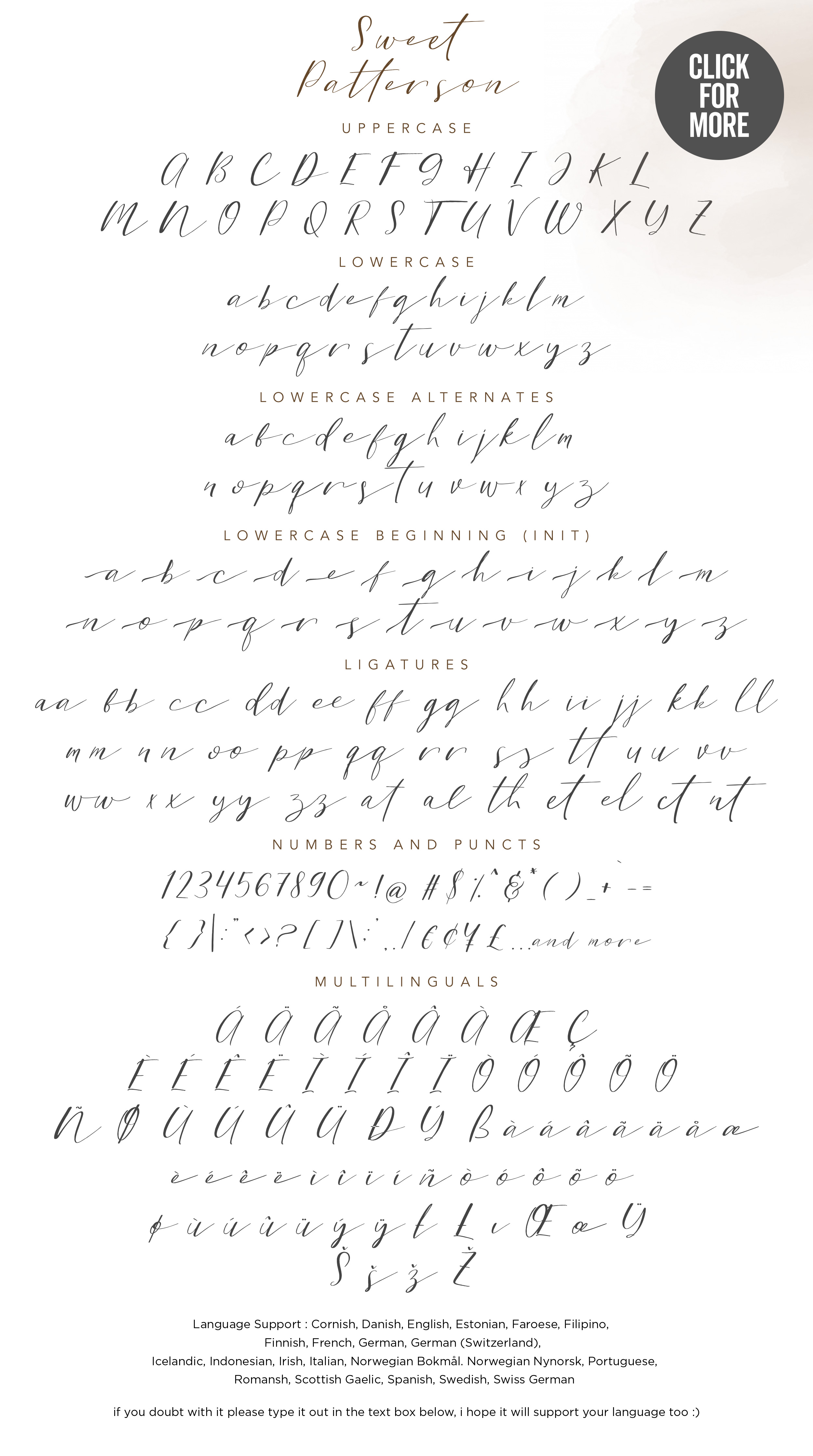Sweet Patterson - Beauty Font example image 7