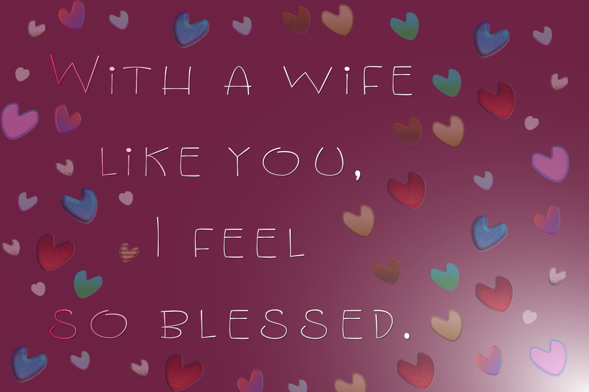 Lovely Wife - A Fun Handwritten Font example image 4