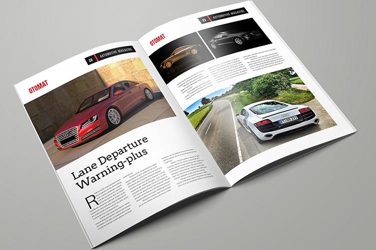 Automotive Magazine Template - Otomat example image 12