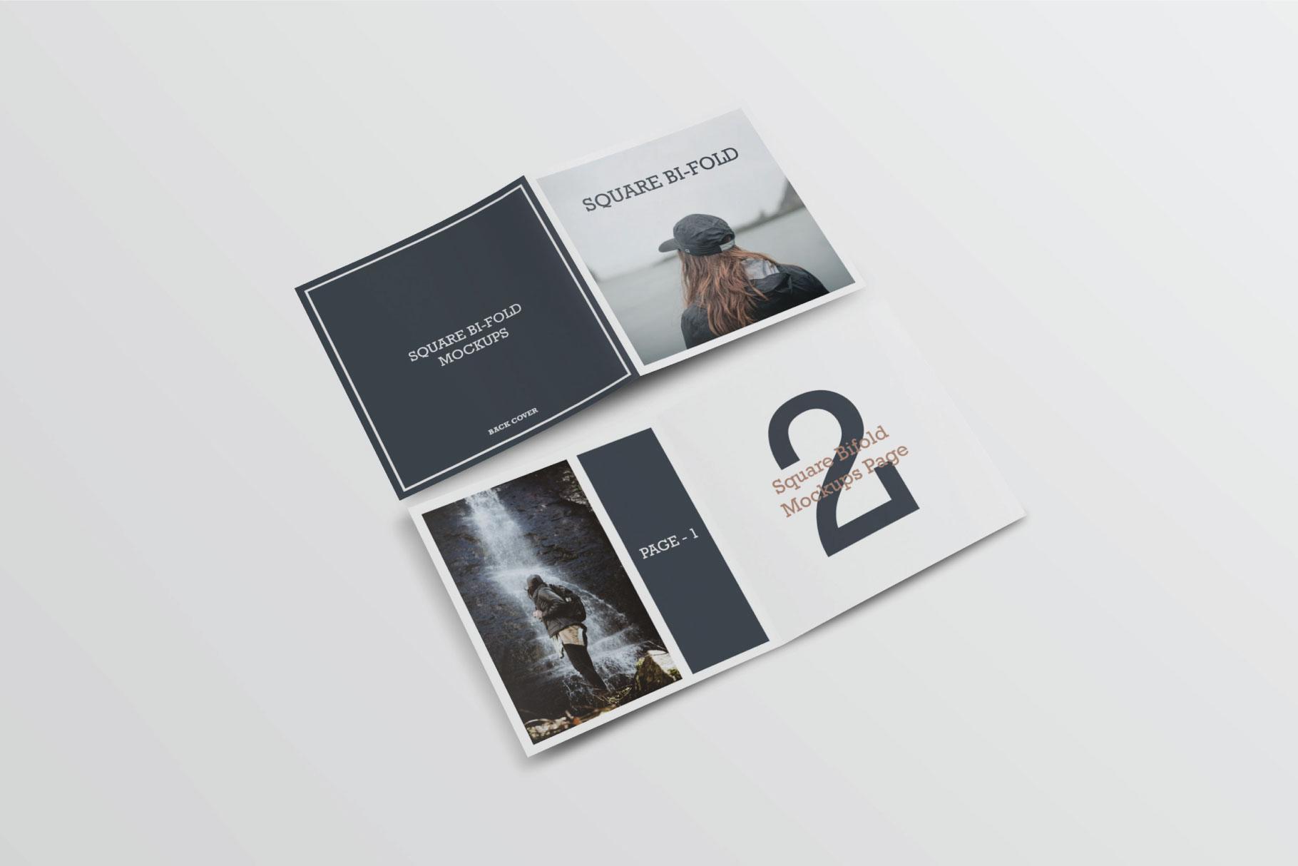 Square Greeting Card Mock-Ups example image 5