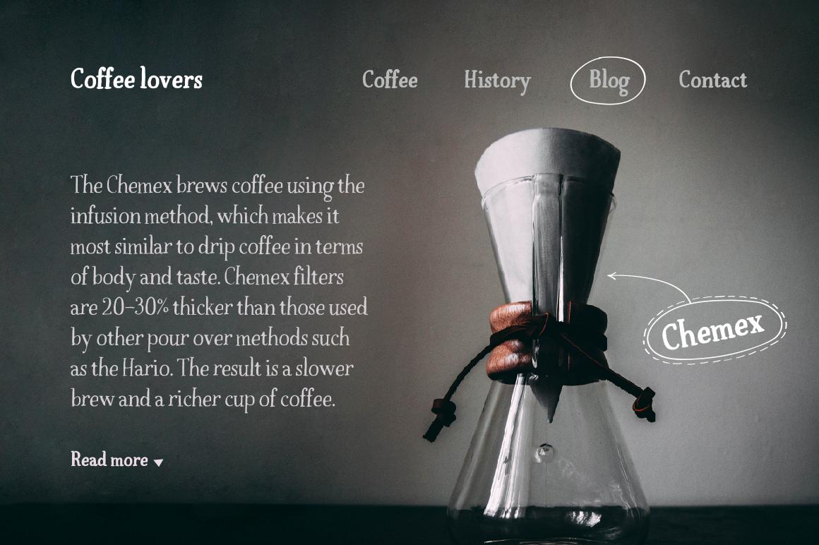 Espresso & Espresso Bold example image 4