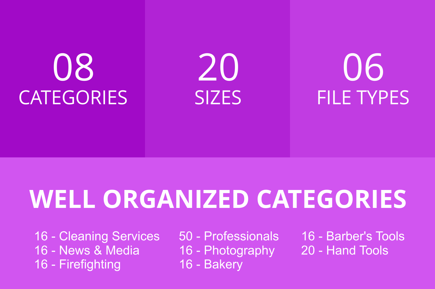 166 Professionals & their tools Line Icons example image 2