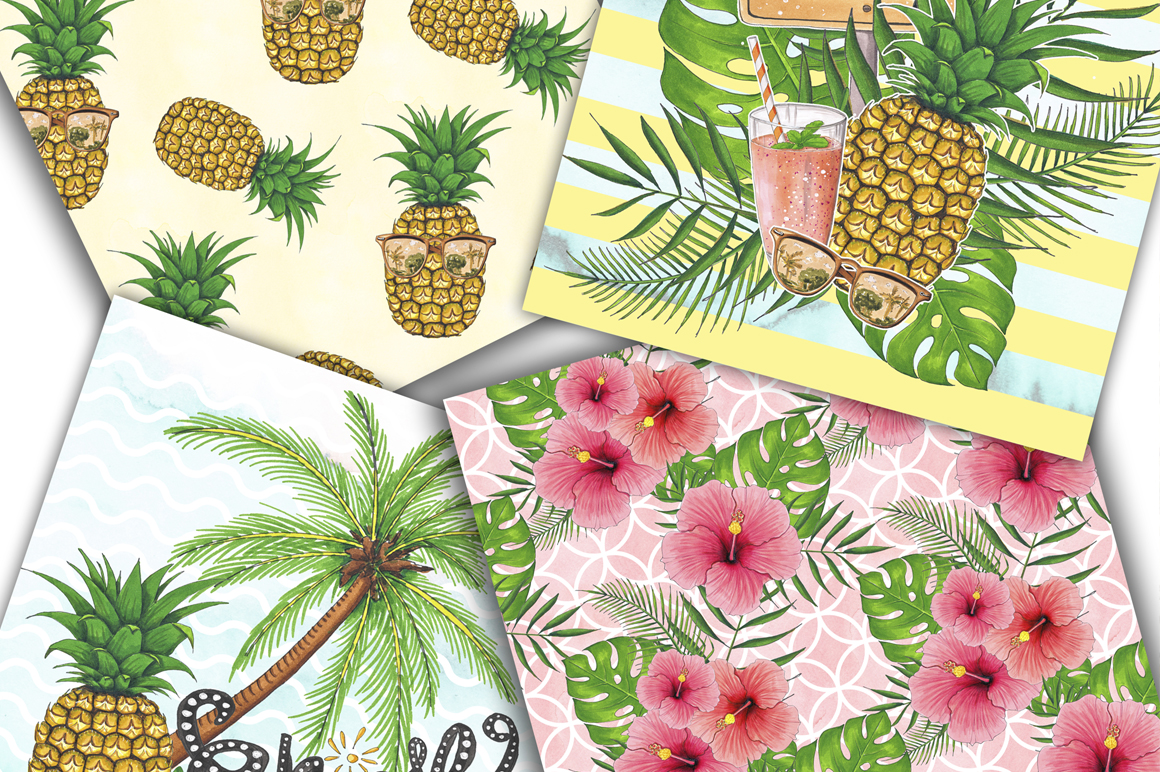 Summer Time Hand-painted Collection example image 8