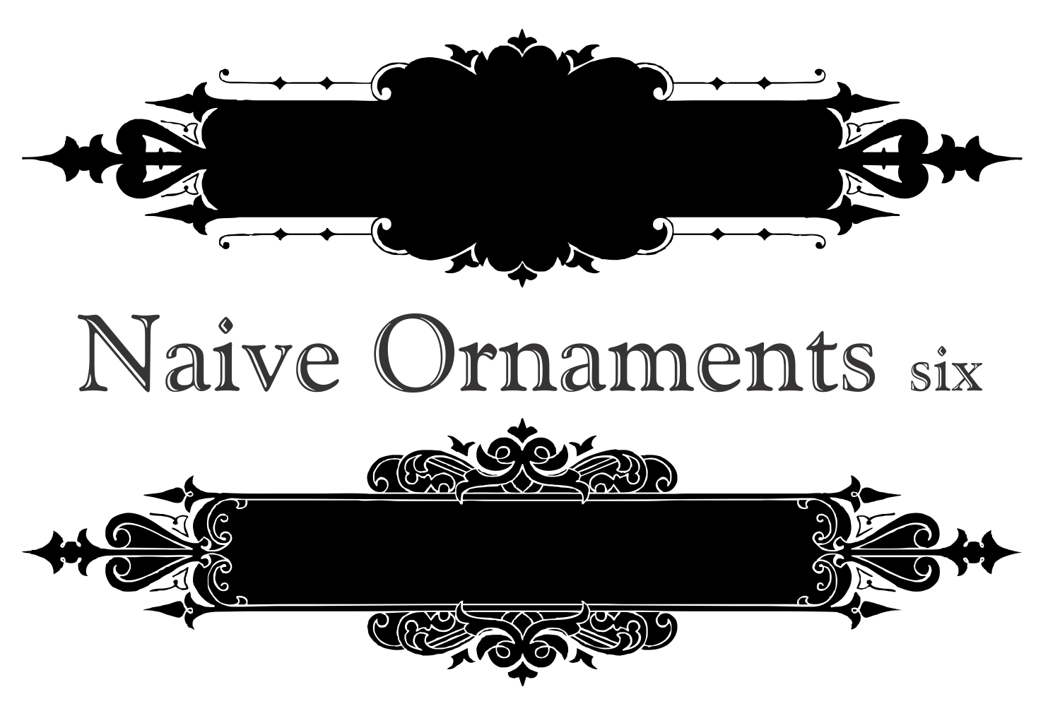 Naive Ornaments Six example image 4