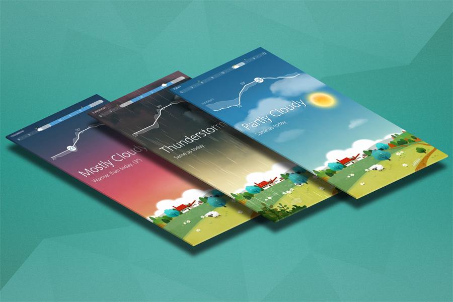App Mock up - Isometric Scenes example image 3