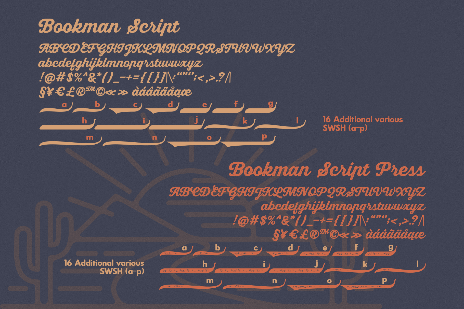 Bookman Font Collection example image 10