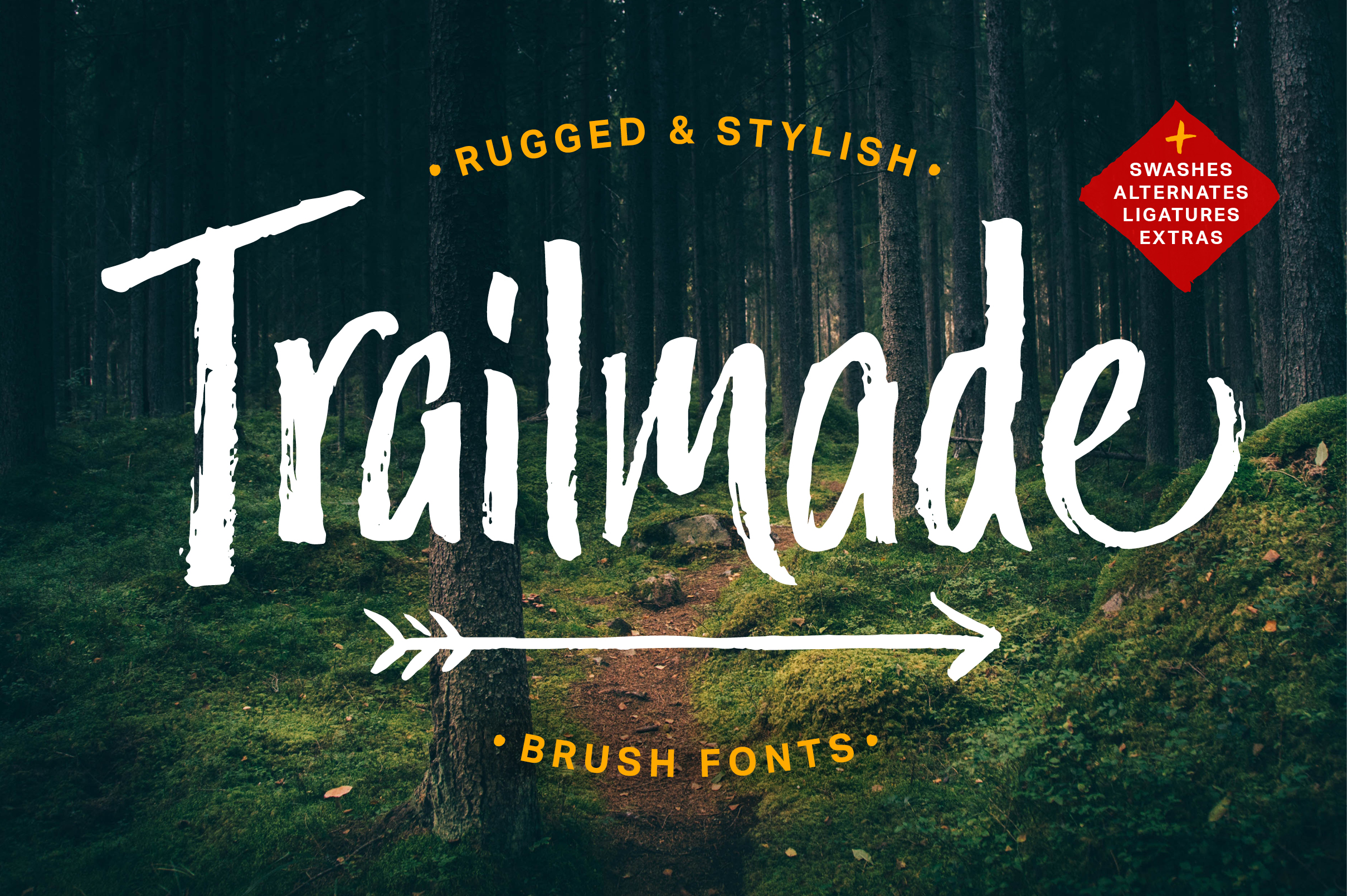 Trailmade Font Family example image 1