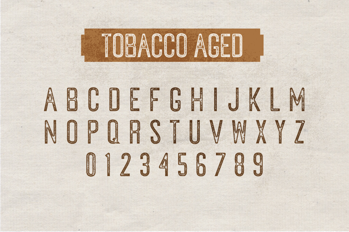 Tobacco Typeface example image 7