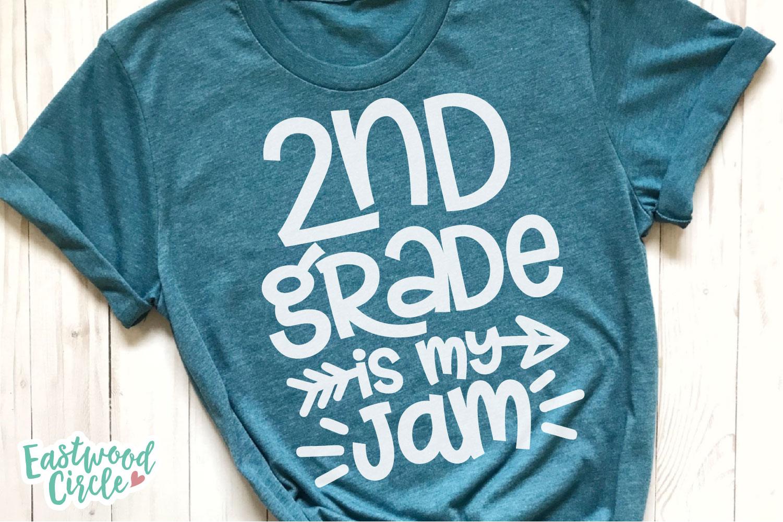 School Is My Jam SVG Bundle - Back to School Cut Files example image 6