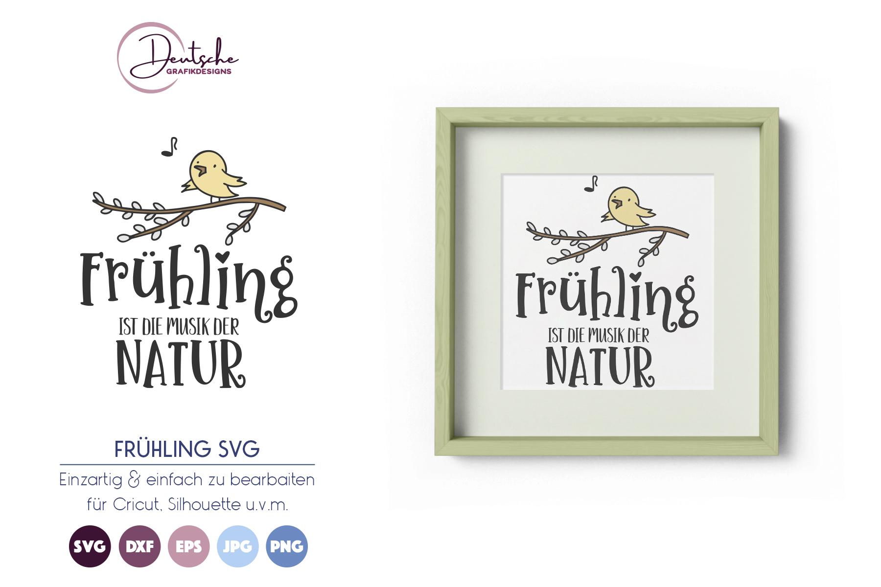 Frühling SVG | Musik der Natur example image 1