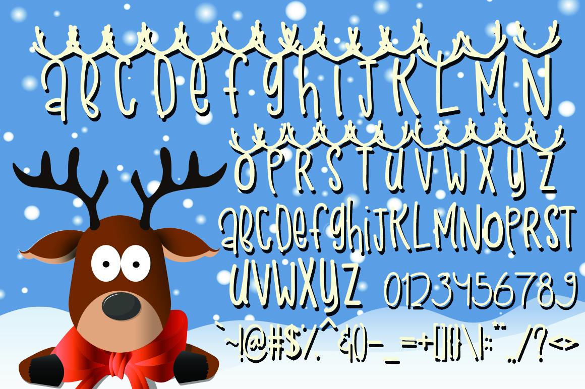 Snow Deer example image 6