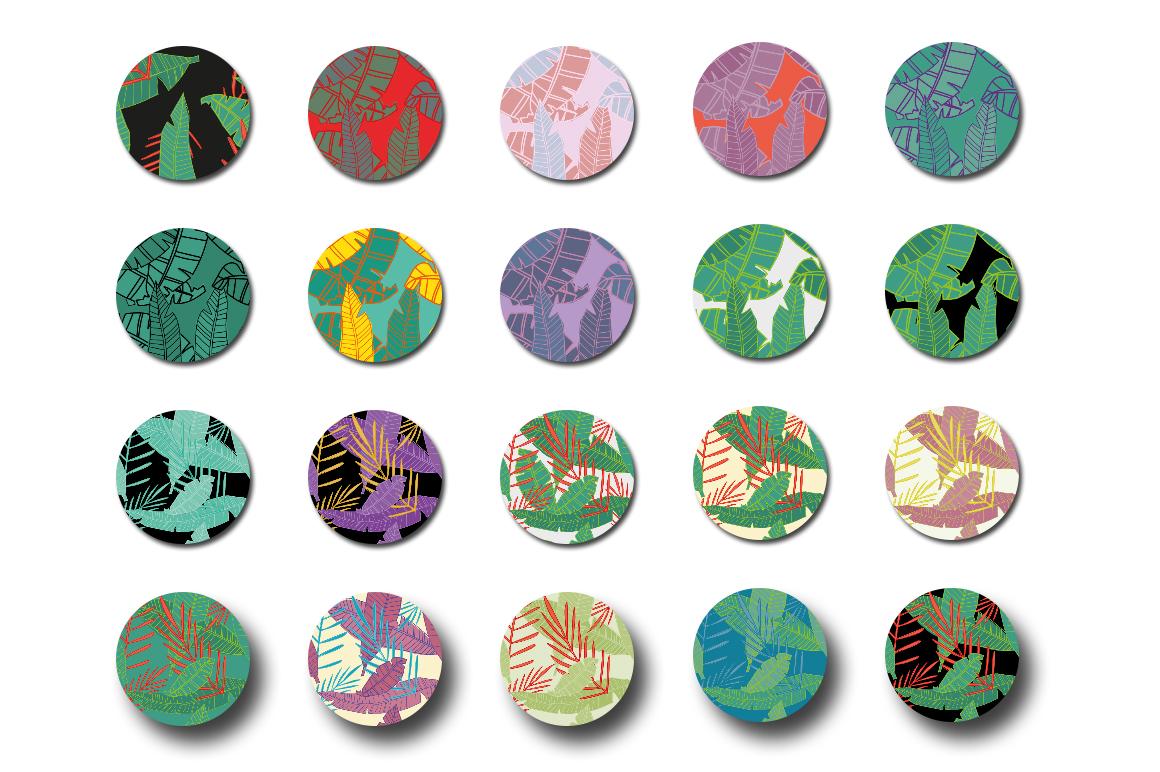 100 Urban Jungle Patterns-Bundle example image 8