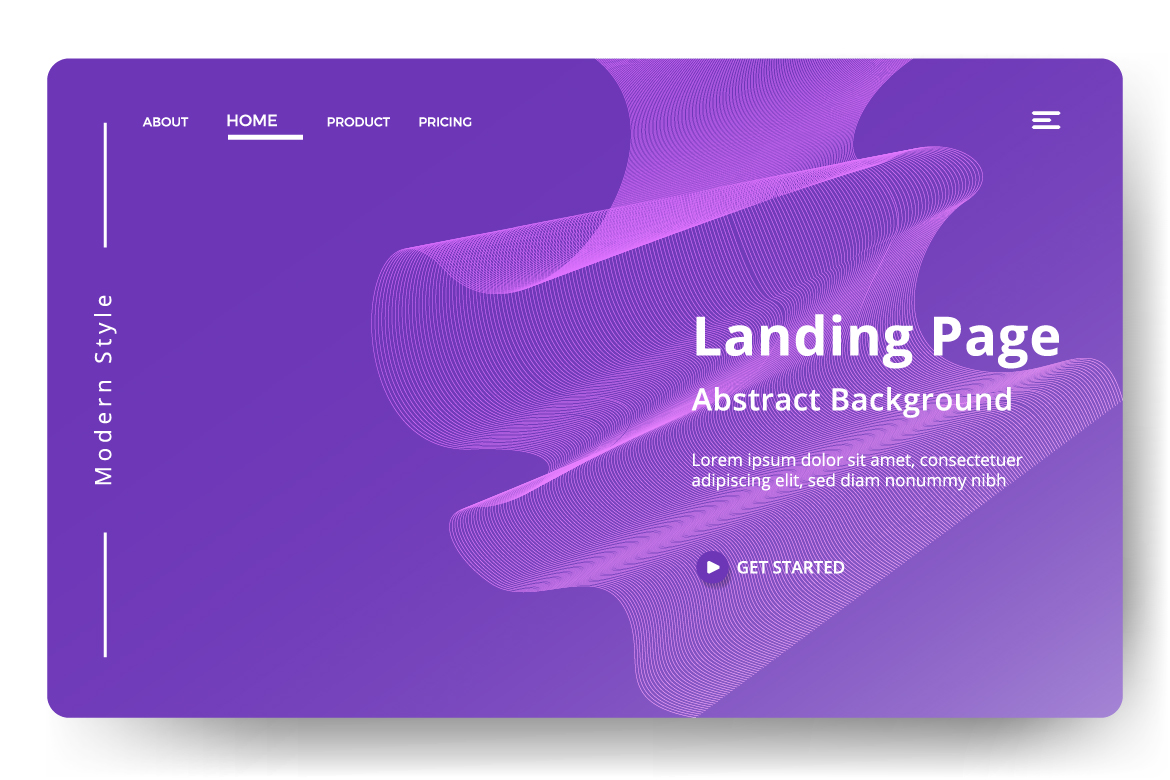 8 Abstract background design example image 3