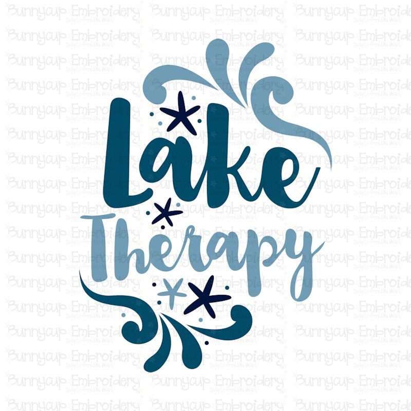 Lake Therapy - SVG, Clipart, Printable example image 2