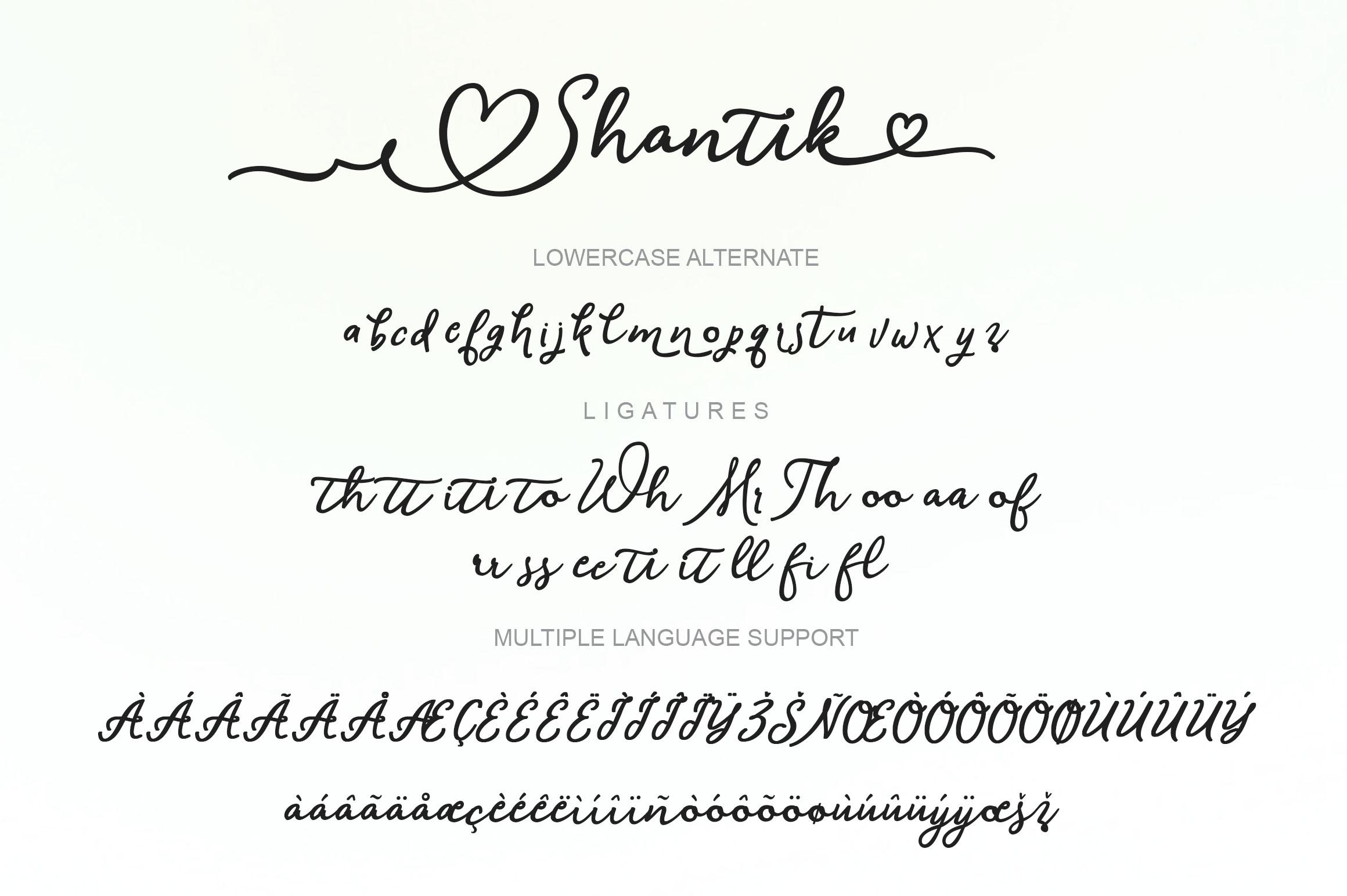 Shantik Script example image 6