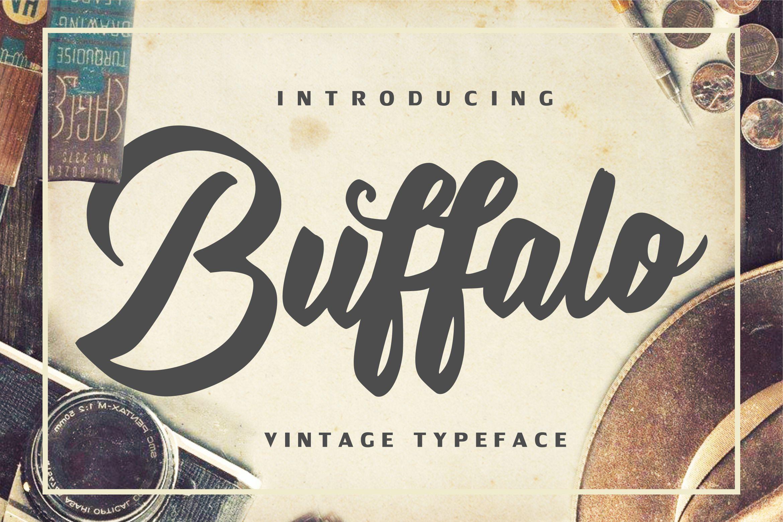 Buffalo - Vintage Typeface example image 1