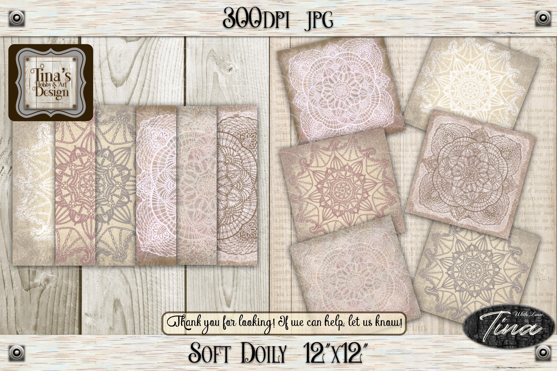 So Soft Doily Card Making Antique Dainty Feminine 111218SD12 example image 1