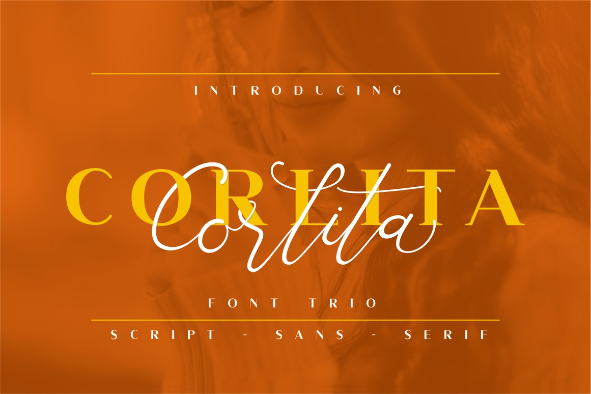 Corlita - Font Trio example image 1