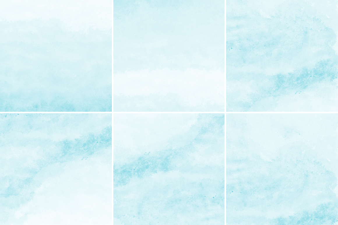 Soft Blue Watercolor Texture Backgrounds example image 2