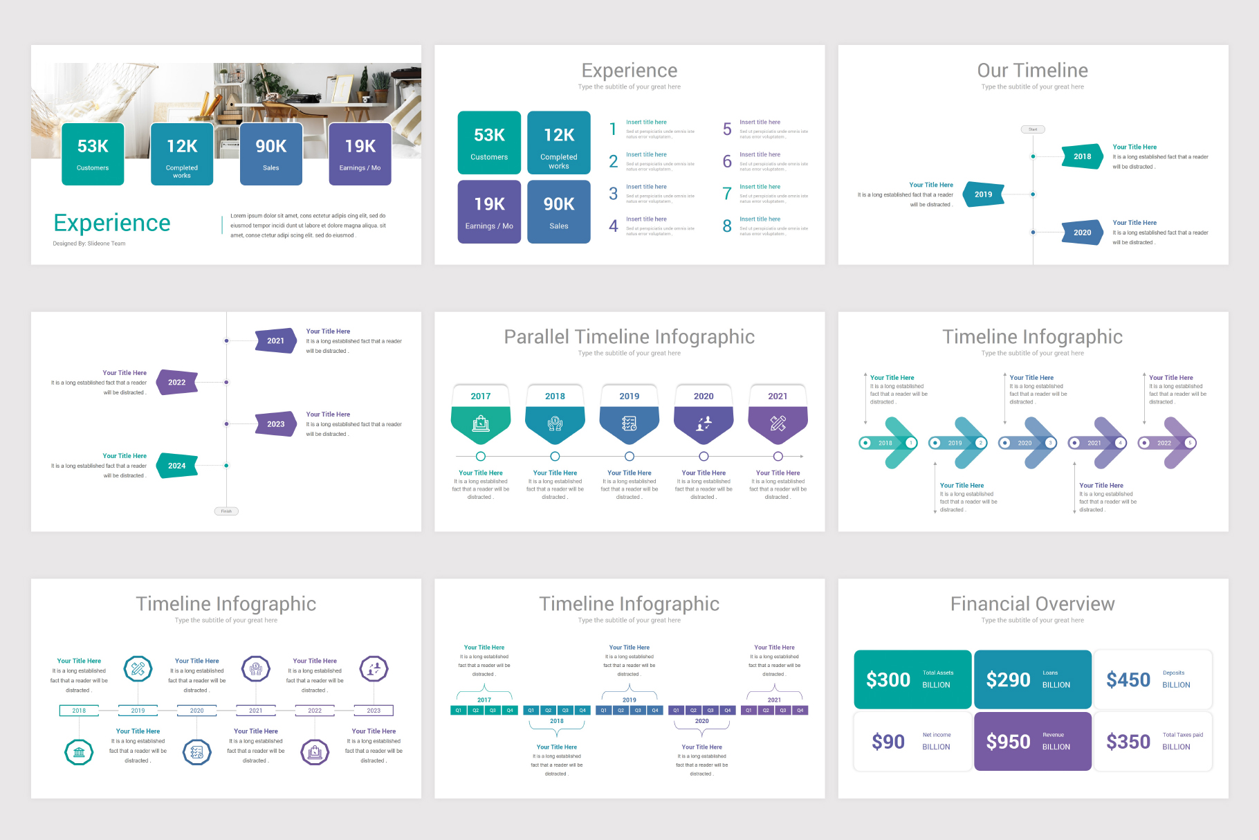 Annual Report Keynote Template example image 11
