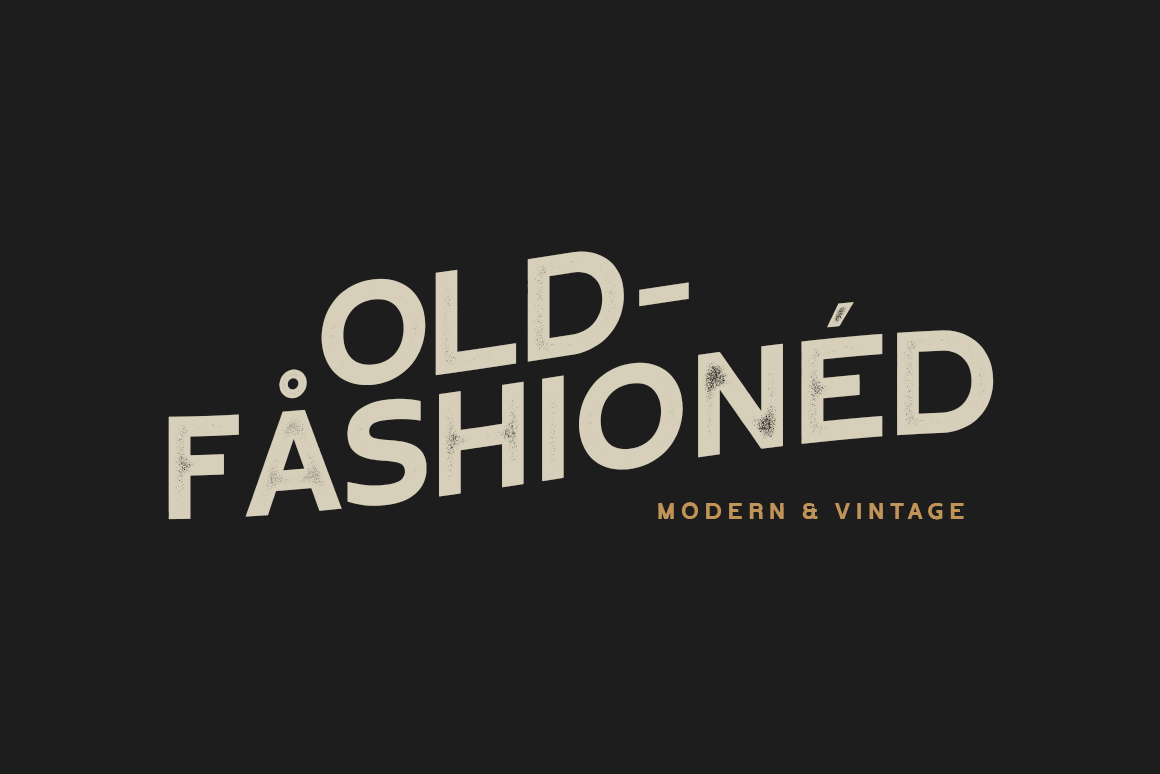 Forester Vintage Sans Serif example image 3