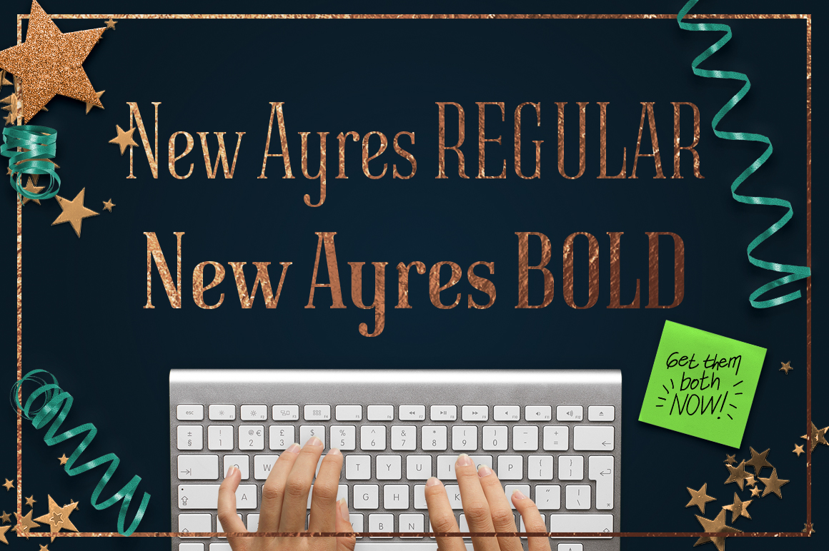 New Ayres Bold example image 4