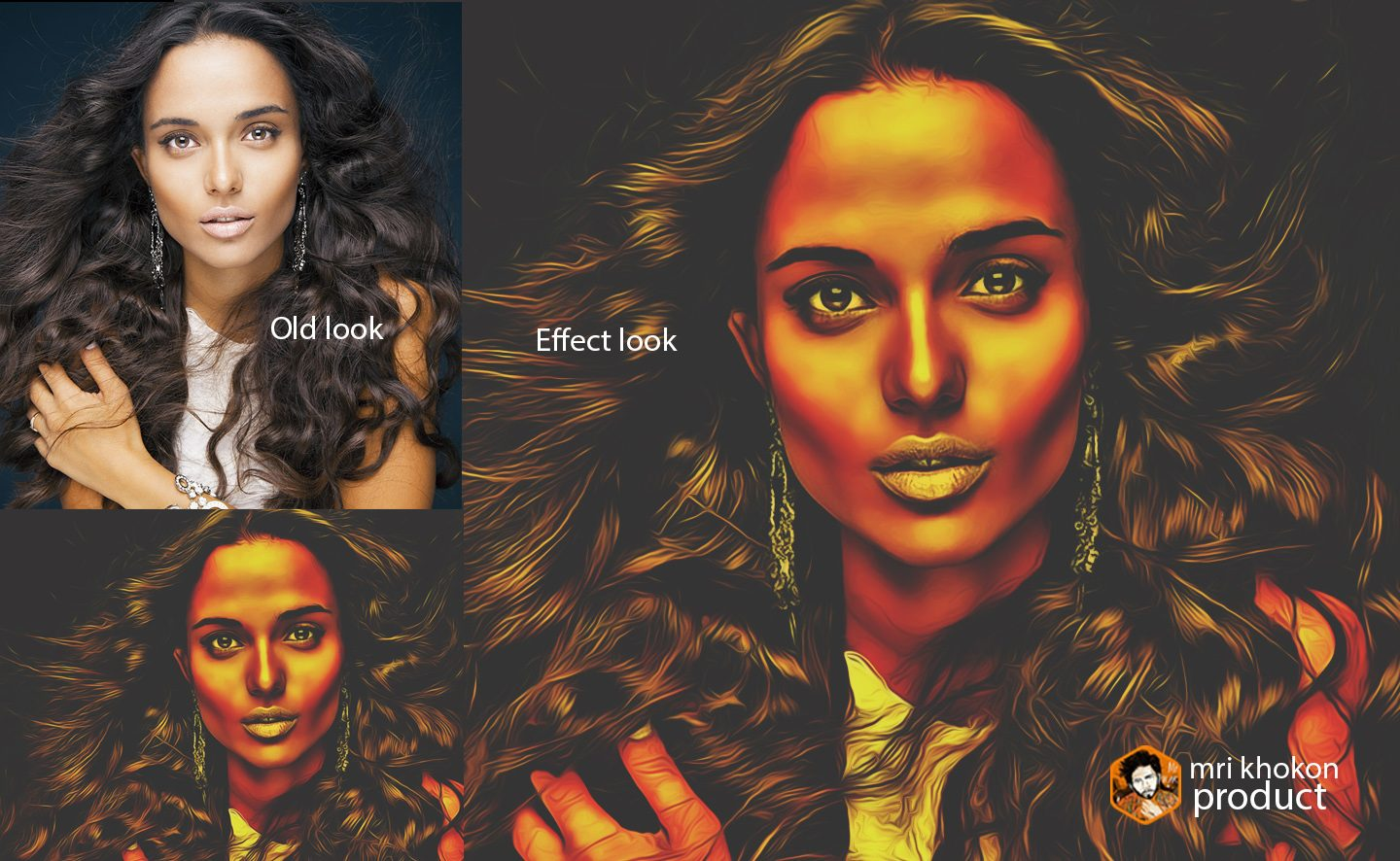 Gold Look Photoshop Effect example image 13